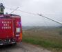 Pali telefonici pericolanti sulla SP 37 tra Sala e Ottiglio: intervento dei Vigili del Fuoco