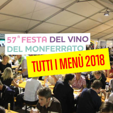 menu festa del vino 2018 casale monferrato