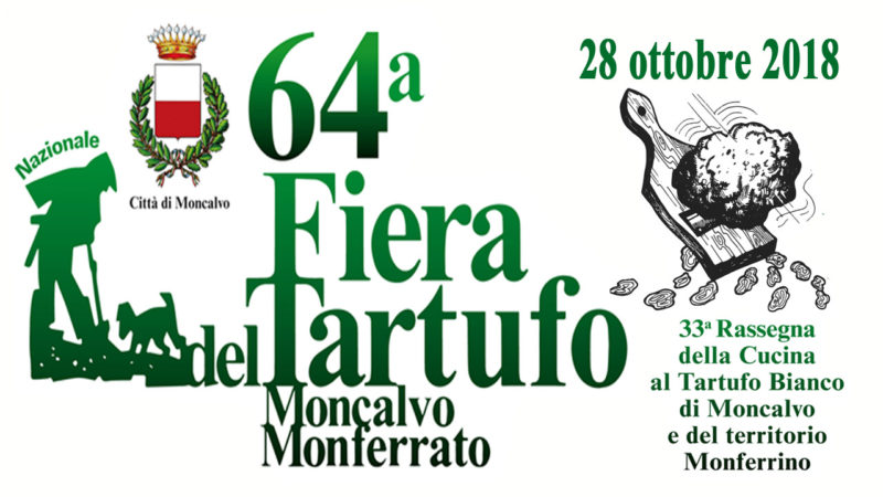 Calendario Lunare Tartufi 2020.Moncalvo 64 Edizione Della Fiera Del Tartufo Sabato 27 E