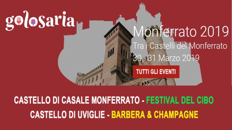 fc07302fc24c Tutti gli appuntamenti di Golosaria tra i Castelli del Monferrato 30 e 31  marzo - Monferrato Web TV