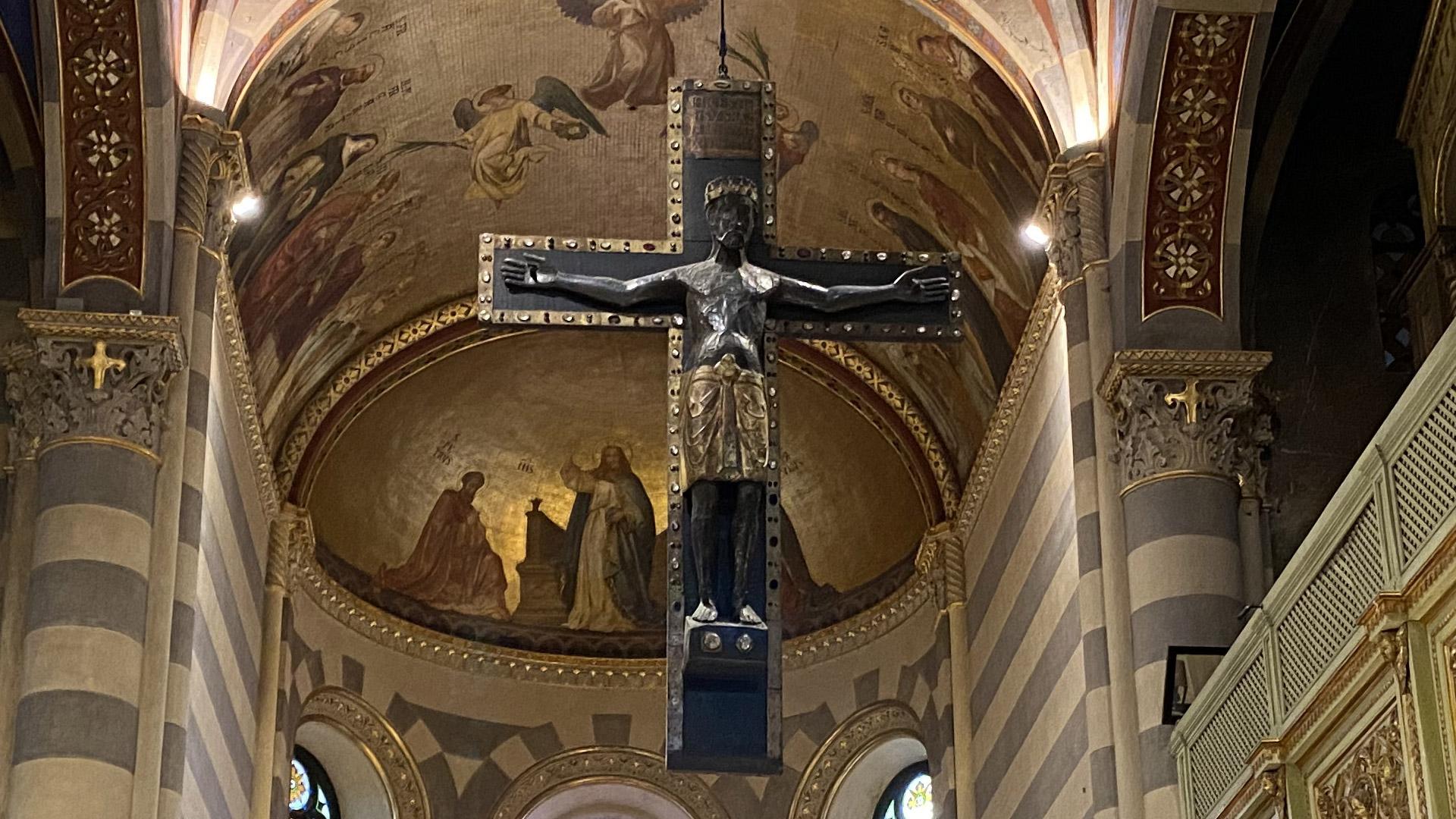 Conoscere Casale Monferrato... in 2 minuti - IL CROCIFISSO DELLA ...