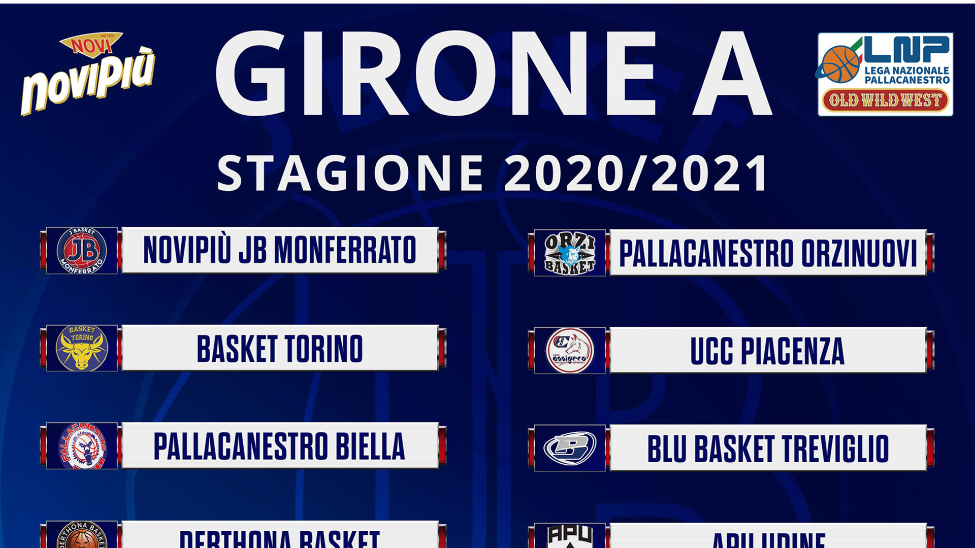Basket   La Novipiù JB Monferrato ufficialmente iscritta al