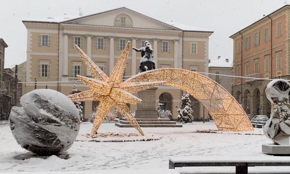 Casale monferrato neve